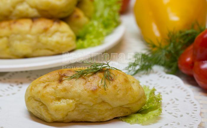 рецепт сосисек в картофельном тесте