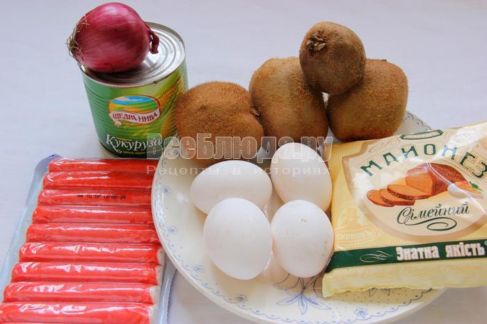 продукты для салат Подкова