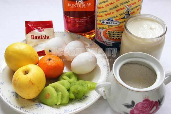 продукты для клафути
