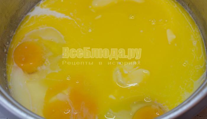 яйца, масло