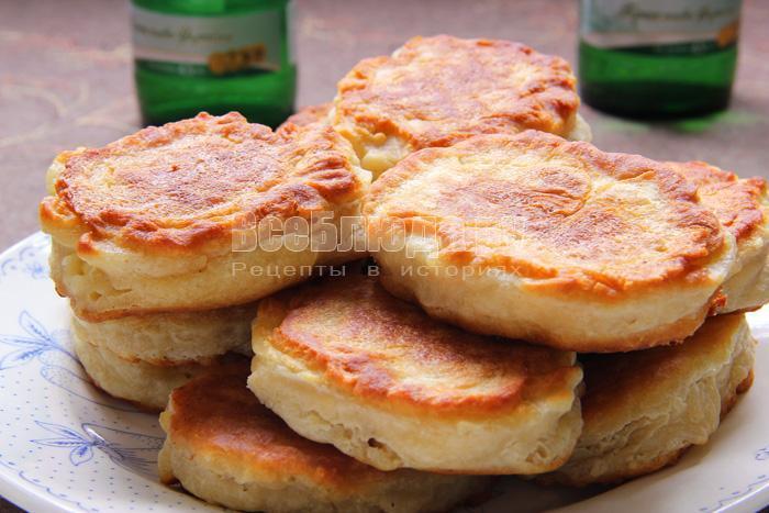 рецепт соленых пирожков