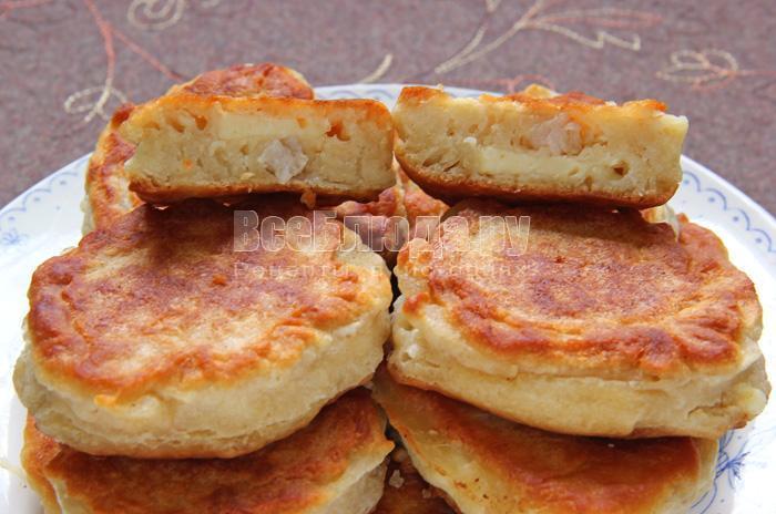 жареные соленые пирожки