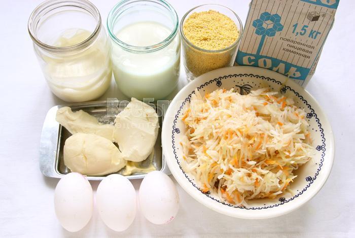 ингредиенты для капустняка