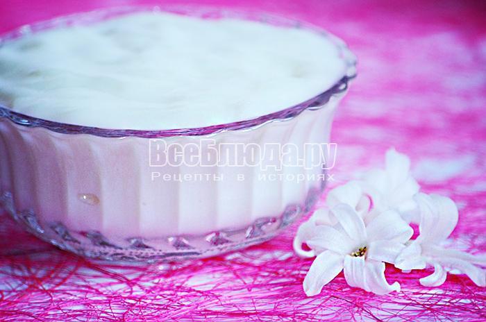 кисель молочный