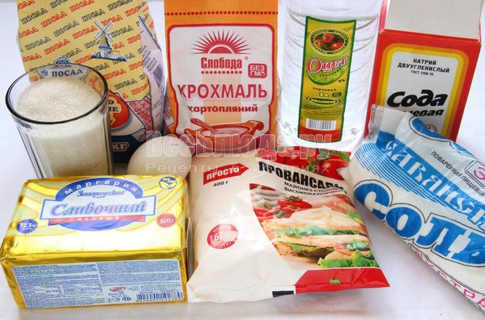 продукты для домашнего печенья из мясорубки