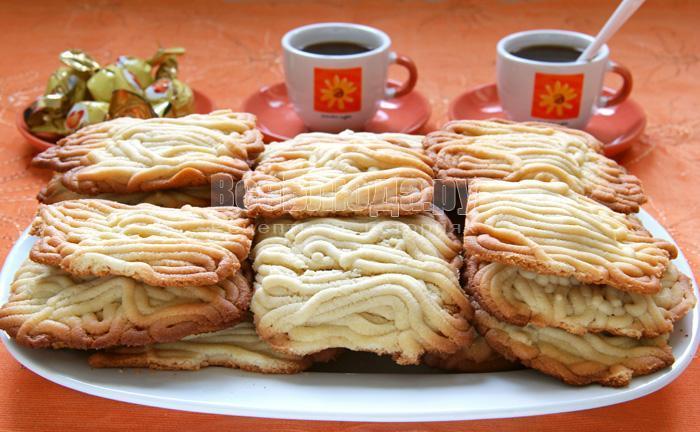 домашнее печенье из мясорубки