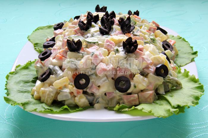 как приготовить салат фан фан со стручковой фасолью