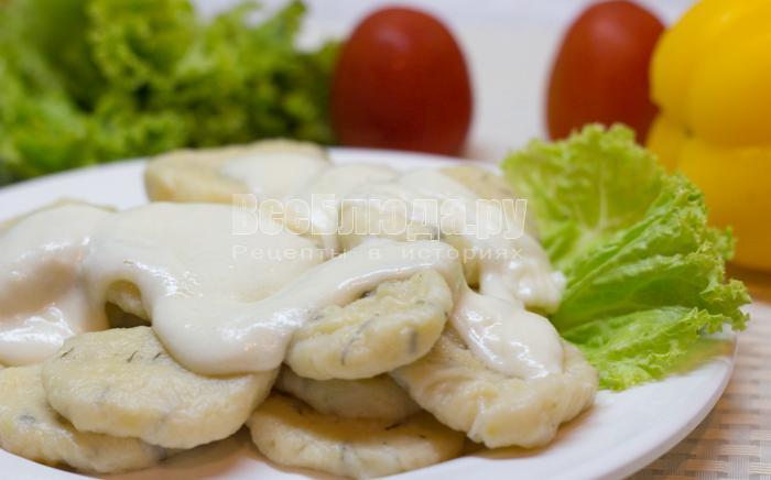 рецепт картофельных клецек