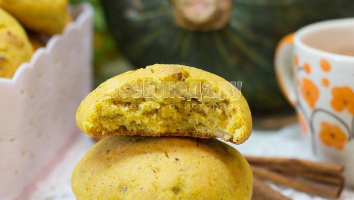 как приготовить печенье из тыквы