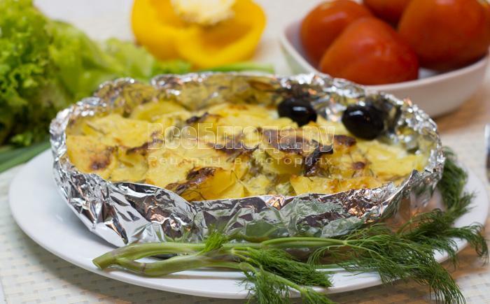 рецепт запеченной в духовке рыбы по-русски