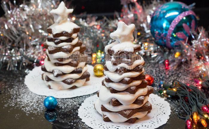 рецепт печенья для елочки