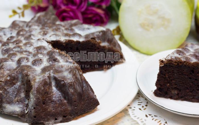 сладкий пирог с кабачком