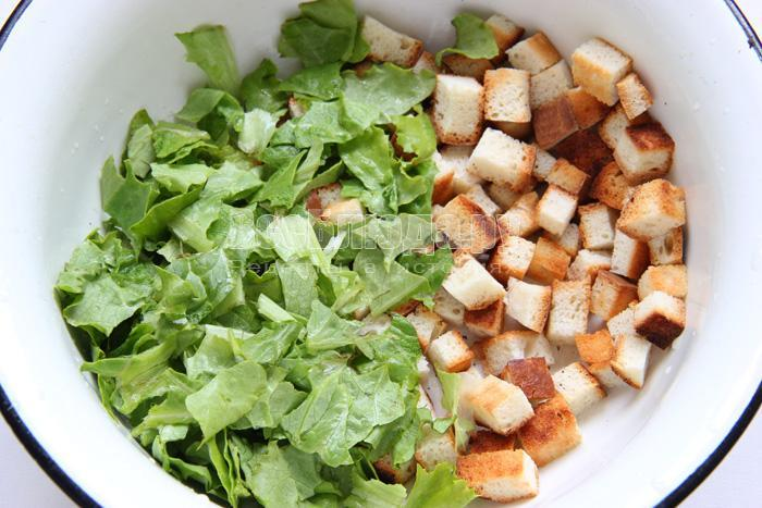 порвать салат