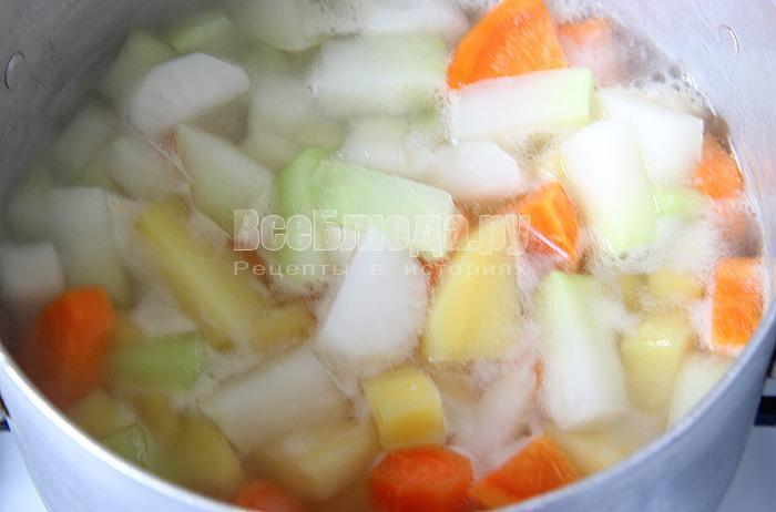 варю овощи