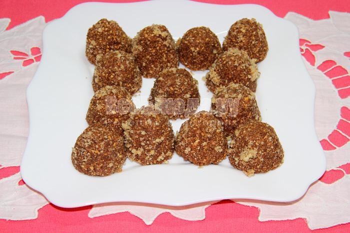 рецепт трюфелей из печенья