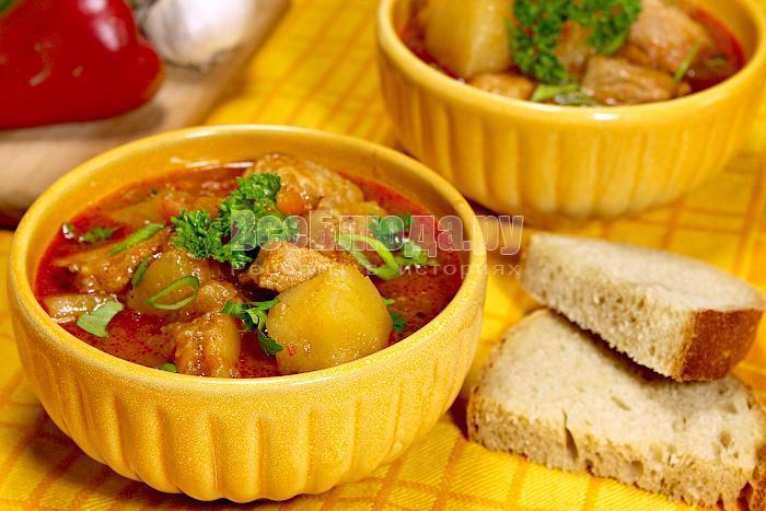 рецепт венгерского супа гуляша