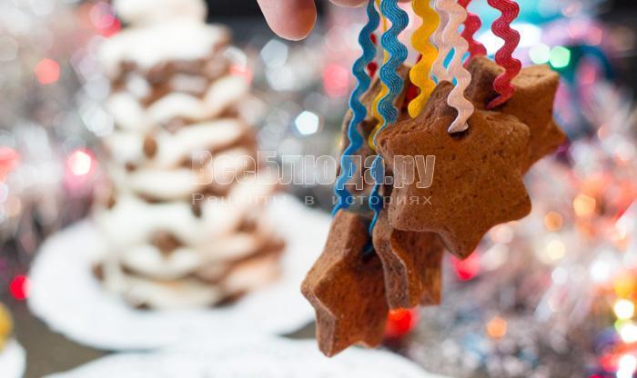 печенье на елку рецепт с фото