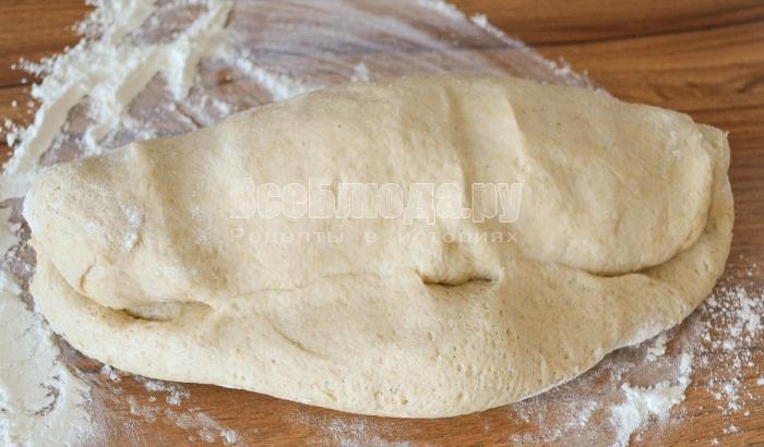 свернуть тесто