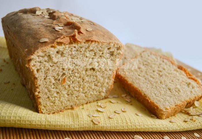 хлеб с овсянкой