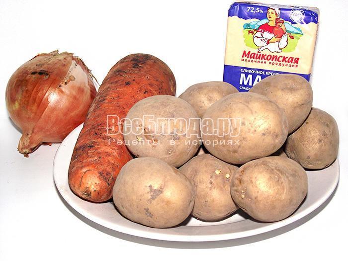 готовим картофельное пюре
