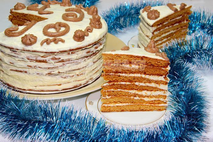 торт чудо классический рецепт с фото