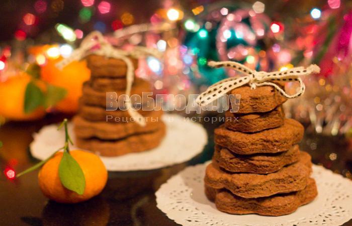 рецепт подарочного печенья