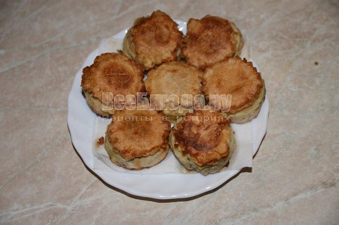 Котлеты овощные в вафельной оболочке – кулинарный рецепт