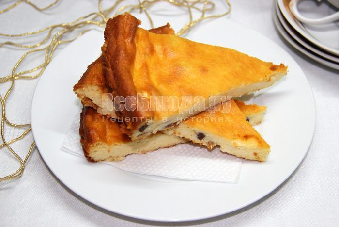 Львовский сырник (запекание в духовке, тесто без муки)