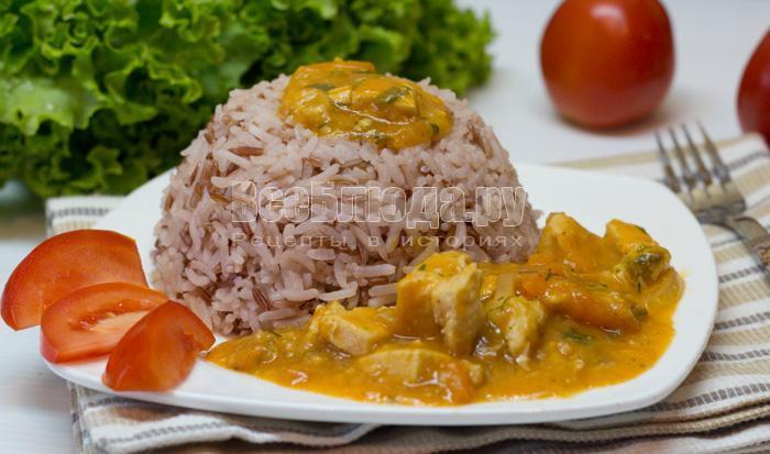 рецепт подливы с куриным филе