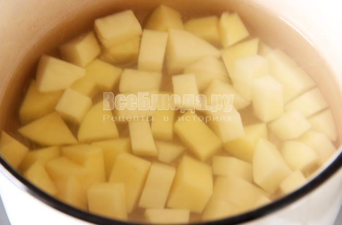 варю картофель