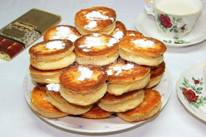 рецепт вкусных творожных пончиков