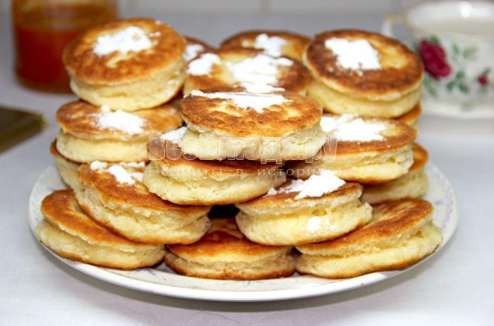 Как приготовить творожные пончики