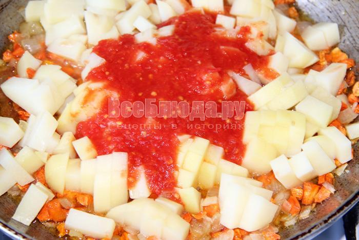 добавляю томат