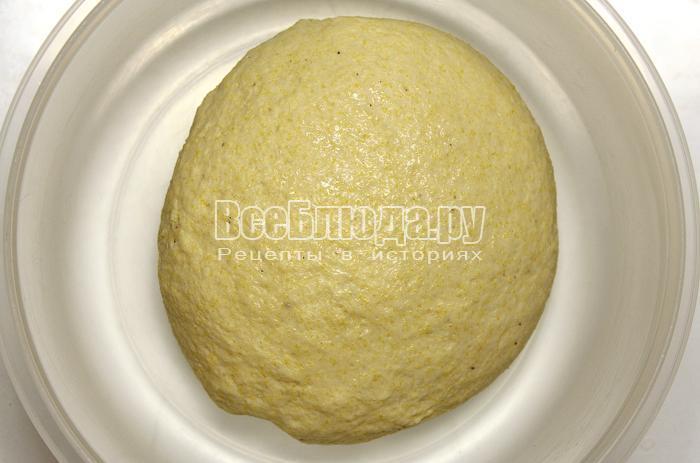 готовое тесто из кукурузной муки