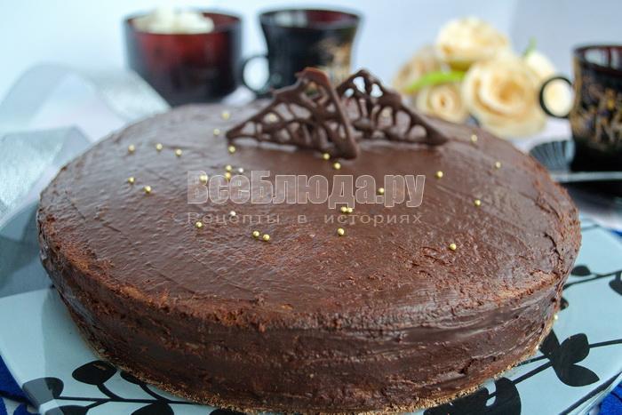 рецепт торта с грильяжем