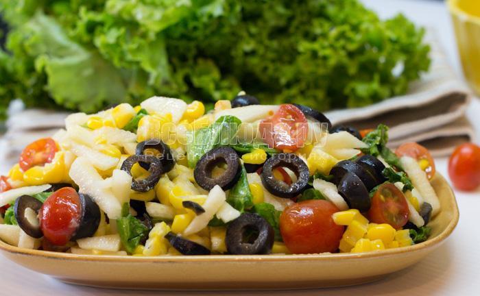 рецепт овощного салата на 2015 год