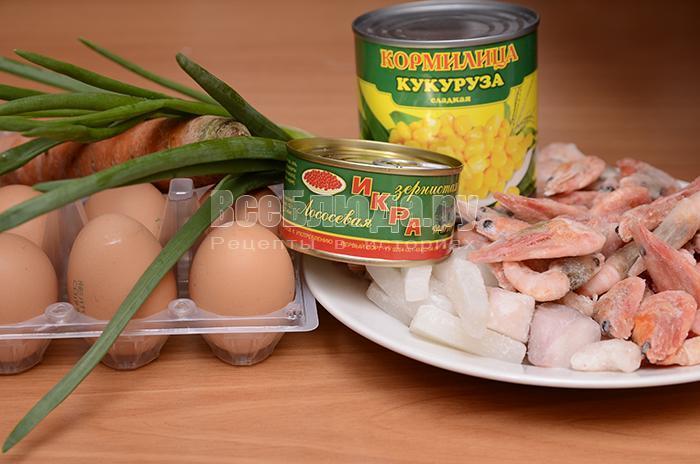 необходимые ингредиенты для заливных яиц