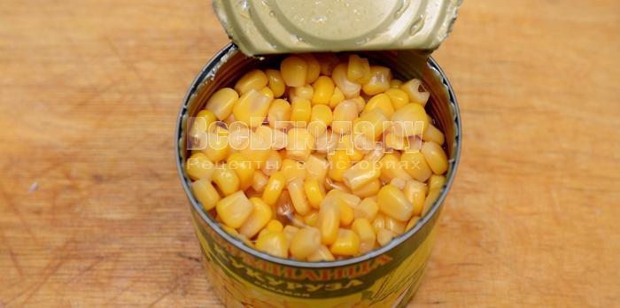 подготовьте кукурузу