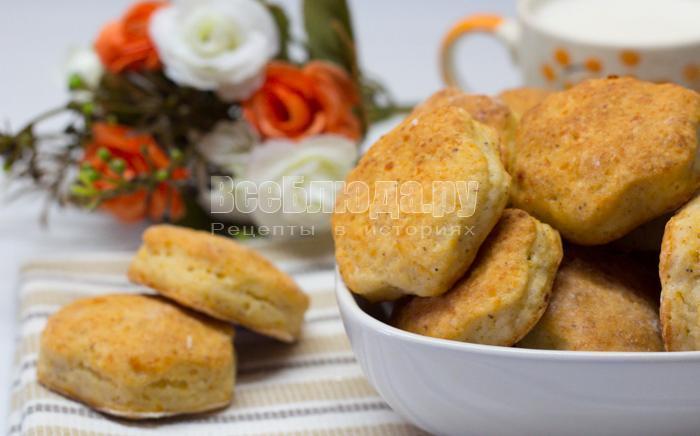 как приготовить печенье из творожного теста
