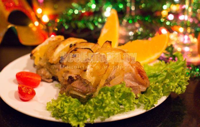 как приготовить свинину на новый год