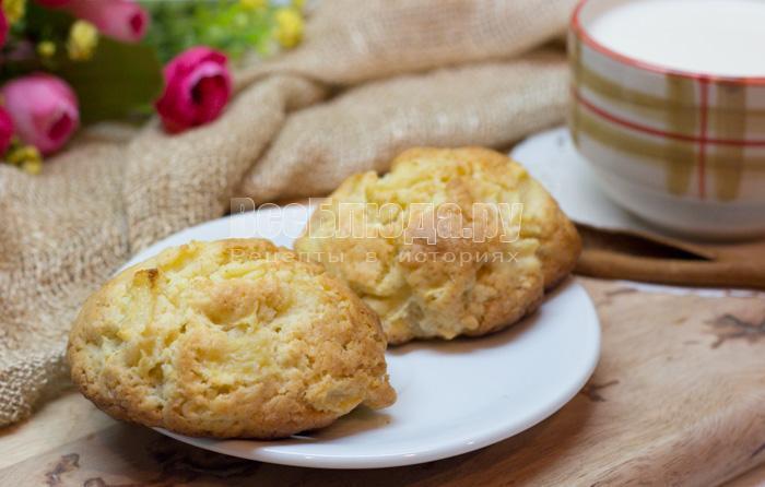 как приготовить самое вкусное печенье с яблоками