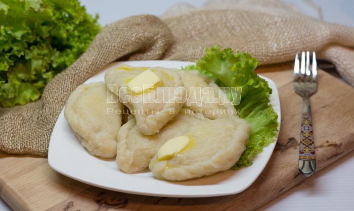 как приготовить вкусные вареники с картошкой