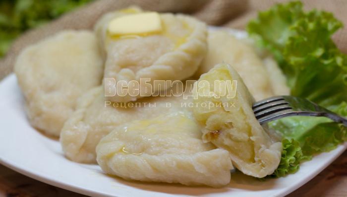 рецепт приготовления вареников с картошкой