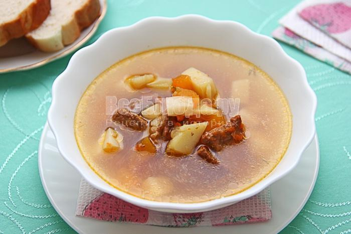 рецепт тыквенного супа