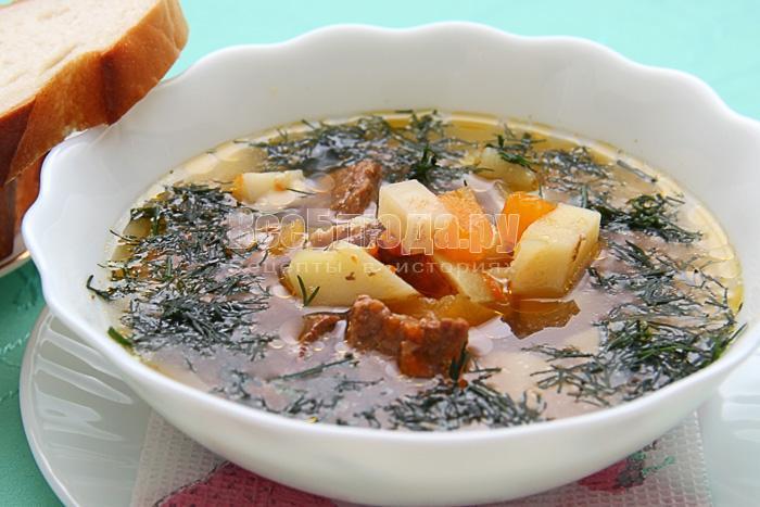 Как приготовить суп с тыквой - Краски осени