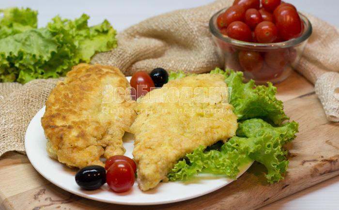 рецепт куриного филе на сковороде