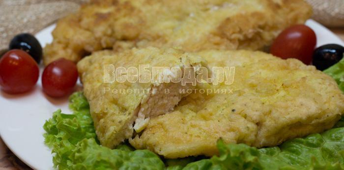 рецепт куриного филе в кляре на сковороде