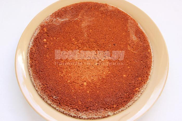Торт Бисквитный - рецепт 3
