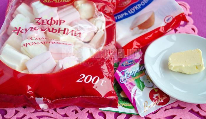 ингредиенты для роз из мастики