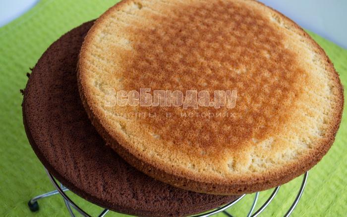 выпечь бисквиты